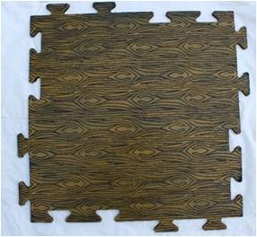 Tile Mat with puzzle connectors