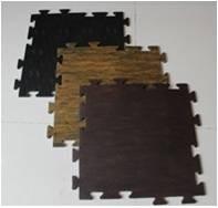Wooden Top Tile Mat
